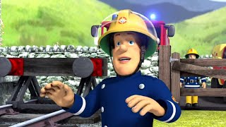 Fireman Sam New Episodes HD | Water Tower Inferno \ Long Marathon 🔥🚒Kids Cartoon