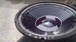 GUSHING SUBWOOFER & 400lbs Of Water Flex! Best Bang For The Buck - 2 12\'s 1000 Watts RMS