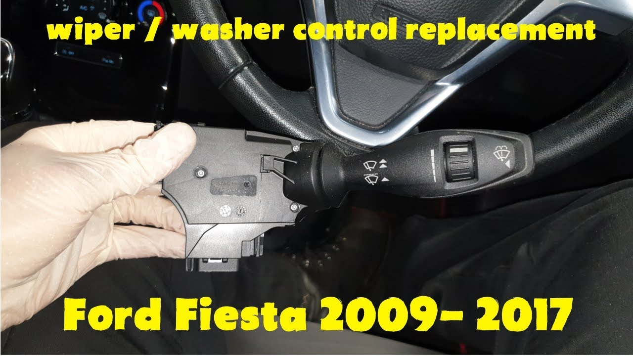Wiper Stalk Switch On A Ford Fiesta 2009 2017 How To Replace Youtube