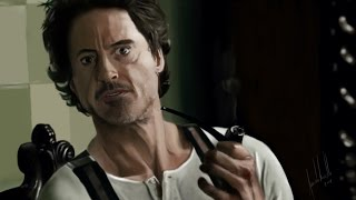 Sherlock Holmes (Robert Downey Jr.) - Speed Painting by Facundo Morello