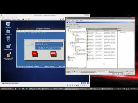 Adding linux client to windows active directory domain