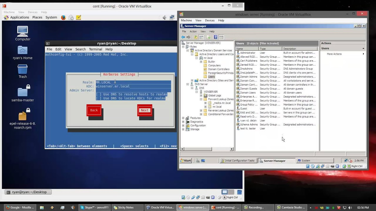 how to create active directory in linux