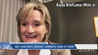 Supporter comment on 'New American Civil War,' anti-racism education prompts Hyde-Smith to say 'that