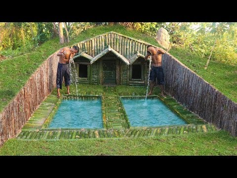 Build House Under The Wood roots & Add Two Swimming Pool Mp3