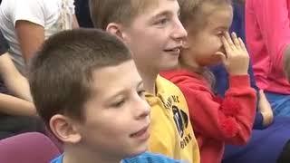 Уникальный цирк Тамерлана Нугзарова побывал в гостях у сочинской школы-интерната № 2