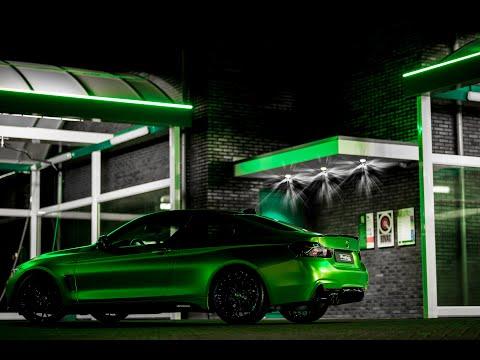 Wraptor - BMW 4 Serie M Performance! Lively Green Wrap!
