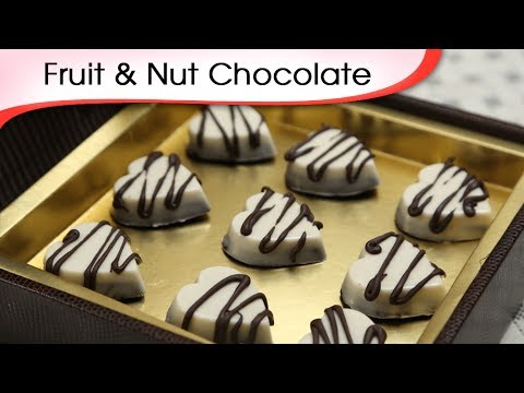 Fruit & Nut Chocolate | Easy To Make Chocolate Recipe | Ruch