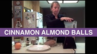 Raw Food Recipes - Cinnamon Almond Power Balls - Raw Food Diet - Pam Sterling