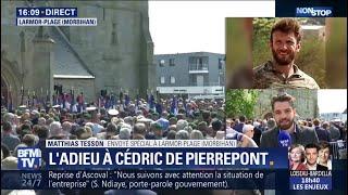 Des centaines de personnes réunies à Larmor-Plage pour les obsèques de Cédric de Pierrepont
