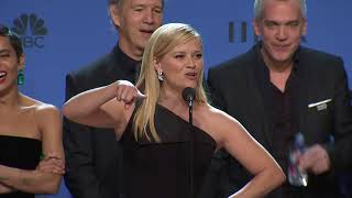 Big Little Lies Press Interview - Golden Globes 2018
