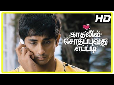 Kadhalil Sodhappuvadhu Yeppadi Scenes | Siddharth And Amala Paul Fight Again | Pooja | Balaji