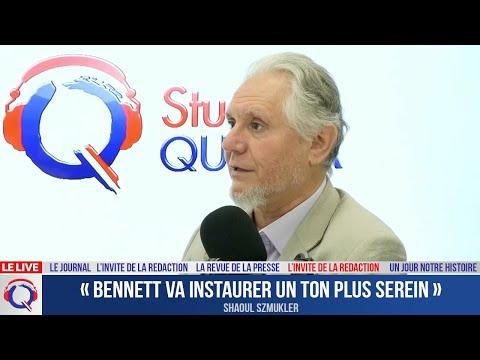 « Bennett va instaurer un ton plus serein » - L'invité du 26 aout 2021