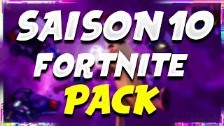 PACK GFX FORTNITE SAISON 10!