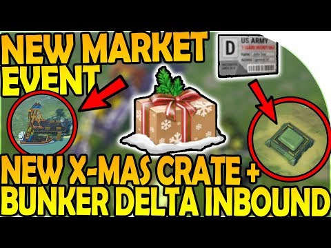 NEW CHRISTMAS CRATE - NEW MARKET EVENT, BUNKER DELTA COMIN- Last Day On Earth Survival 1.6.12 Update