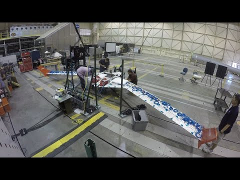 X-56 Full-Body Ground Vibration Tests