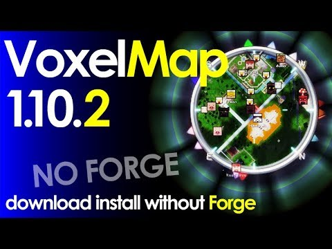 VOXELMAP Minecraft How To Download And Install Voxelmap - Mini map para minecraft 1 10 2