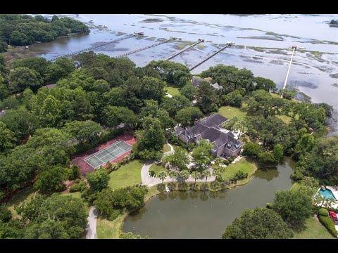 Lowcountry Waterfront Estate In Charleston, South Carolina