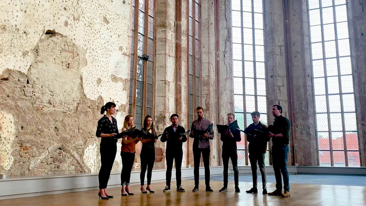 Nunc Dimittis VOCES8 Singles Series SATB Paul Smith Choral Score EP73452