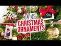 10 DIY Christmas Ornaments - HGTV Handmade