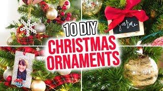 10 Diy Christmas Ornaments - Hgtv Handmade