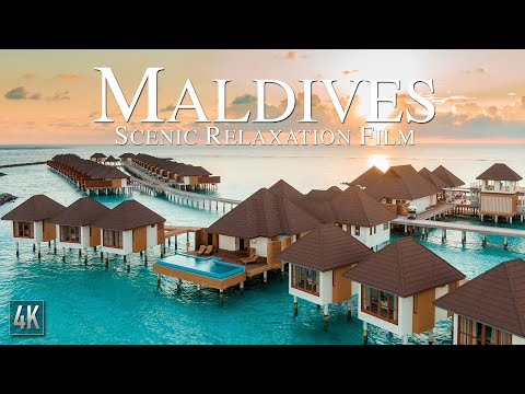 Maldives 4K Relaxation Video | Tropical Island Drone Footage | Maldivas 4K | #Maldives4K #Maldivas4K