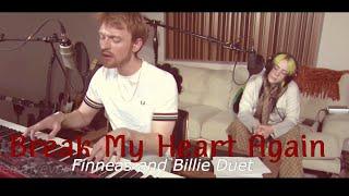 "Finneas And Billie Duet ""Break My Heart Again"" Verizon Live"