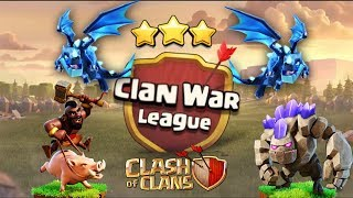 MY CLAN WAR LEAGUE HITS - CWL - Th11 Electro-DragLoon Tried to help the clan - Clash Of Clans