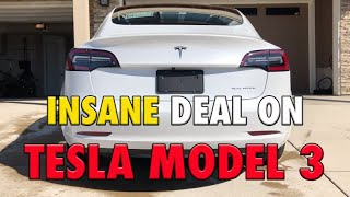 HOW TO SAVE THOUSANDS ON A TESLA MODEL 3 | $7550 IN SAVINGS