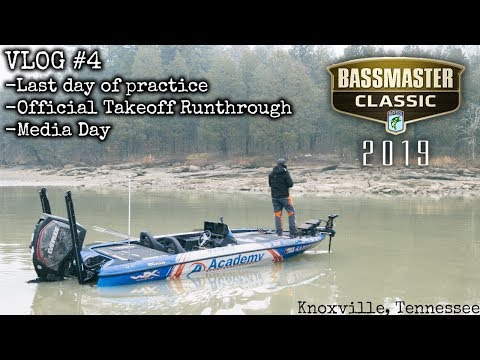VLOG #4 Bassmaster Classic 2019 Official Practice and Media Day