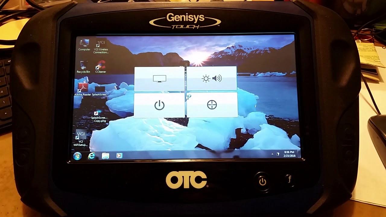 genisys scanner update