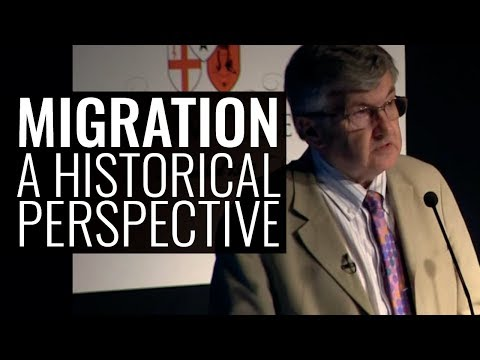 Migration: A Historical Perspective - Professor Sir Richard Evans