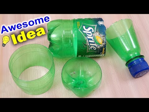 Wall Hanging Making From Plastic Bottle || Best Reuse Idea || Handmade Things