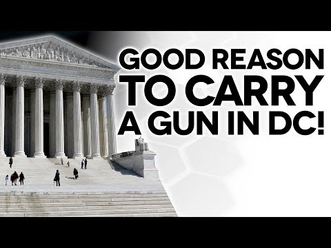 "No more ""Good Cause"" to carry a gun in DC! - The Legal Brief"