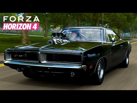 Forza Horizon 4 | 1970 Dodge Charger R/T - The Fast & The Furious Gameplay | Realistic Driving