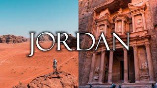 JORDAN - Land of Wonders (Petra, Wadi Rum, Dead Sea, Amman, Jerash) | Travel Vlog 4k