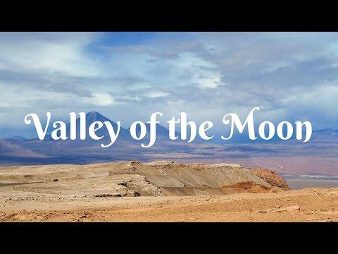 Visiting the Valley of the Moon (El Valle de la Luna) for sunset in San Pedro de Atacama, Chile