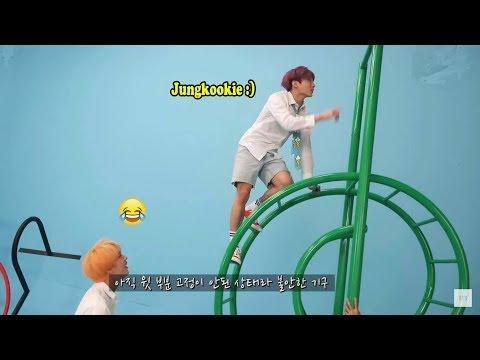 JUNGKOOK (정국 BTS) Makes His Hyungs Laugh #3
