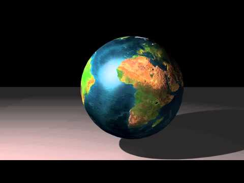 Mineral Planet Earth Model