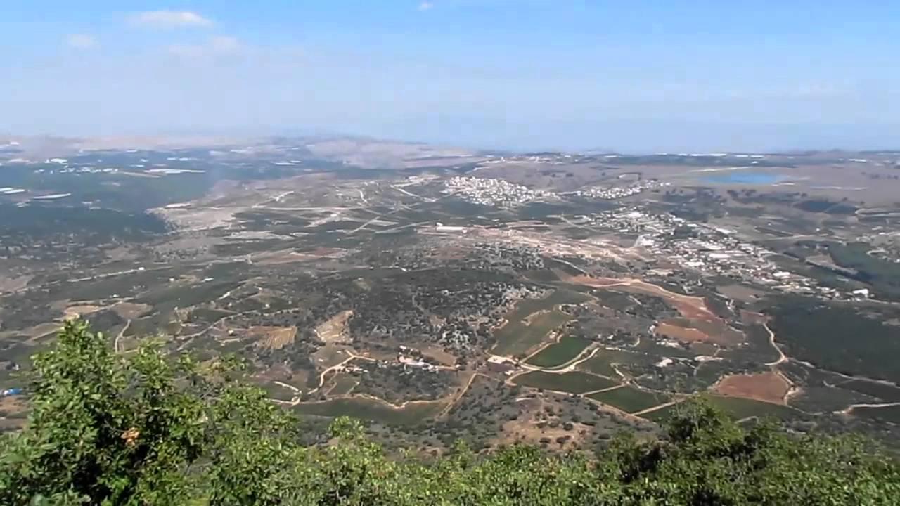 الجرمق أعلى جبل في فلسطين 1208م مسار دائري في القمة Youtube