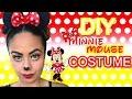 DIY MINNIE MOUSE MAKE UP & COSTUME| Halloween 2016