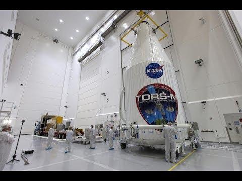 NASA's TDRS-M and Atlas V Construction, Testing and Integration in 4K/UHD