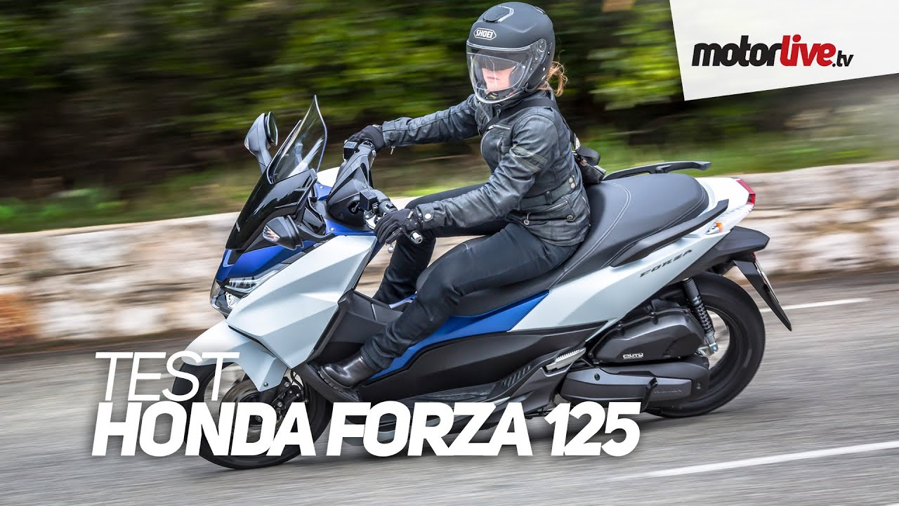 test honda forza 125 youtube. Black Bedroom Furniture Sets. Home Design Ideas