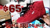 f2d24e2296a46f PUMA Suede Mid Classic Nat Calm 2 SKU 8399981 - YouTube