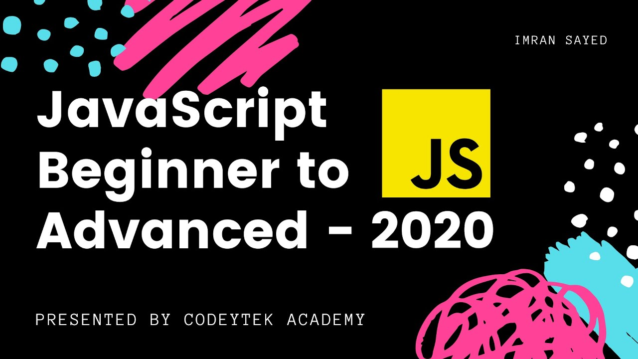 JavaScript Crash Course | Javascript Tutorial For Beginners 2020