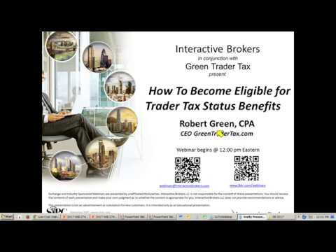 GreenTraderTax  - How To Become Eligible For Trader Tax Status Benefits
