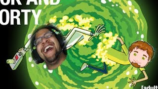 Rick and Morty Funny Moments REACTION