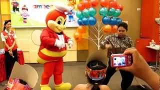 Oppa Gangnam Style with Jollibee & Me - During Amber's  3rd Birthday (My Version)