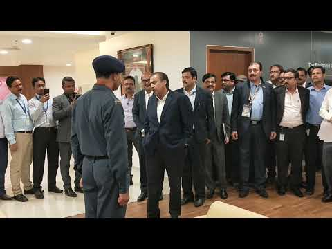 Mukesh Ambani Visit In Kolkata Jio Godrej Office