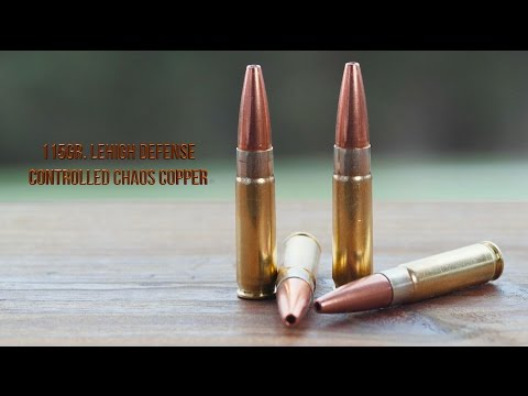 204 High Velocity Controlled Chaos 28gr Bullet