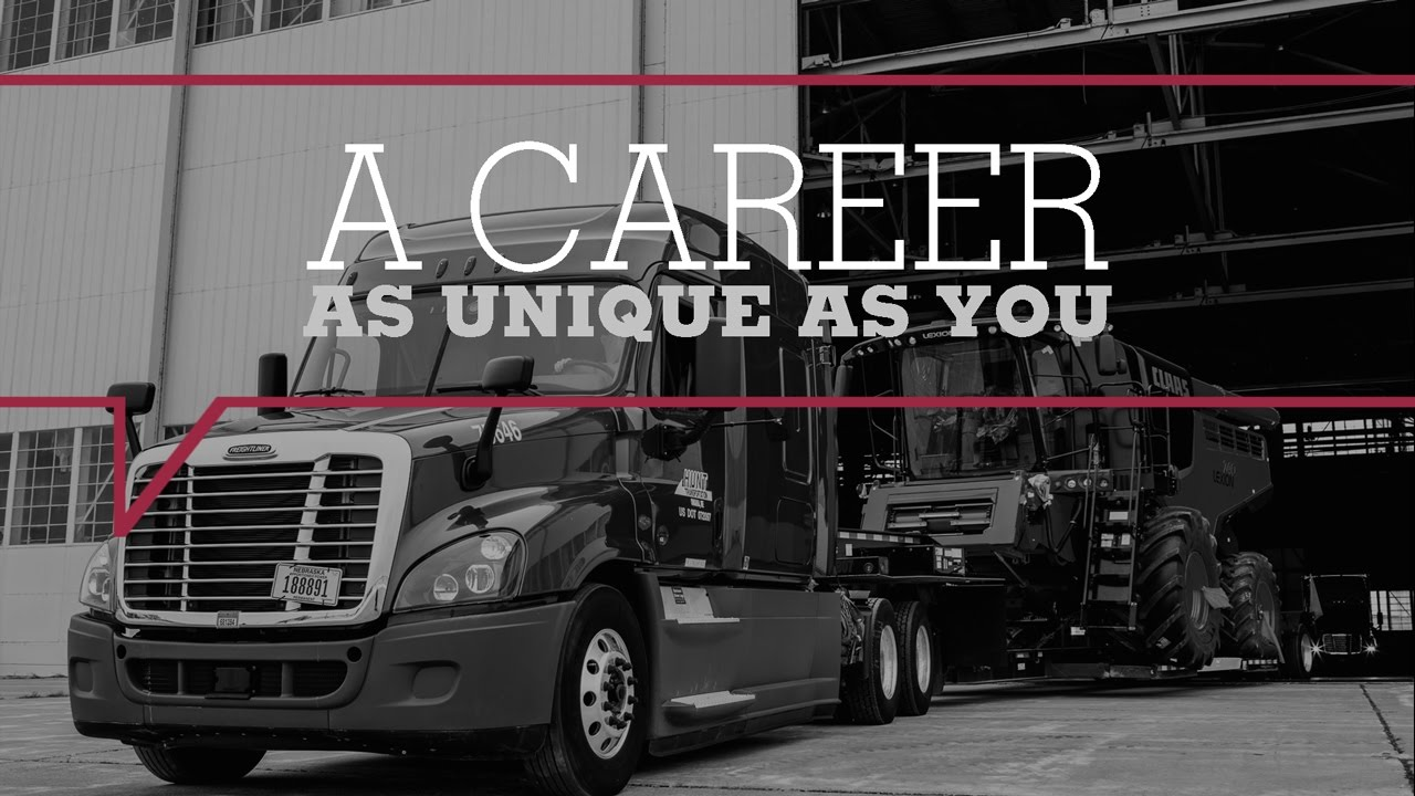 Career Trucking A Career As Unique As You Flatbed Trucking Jobs
